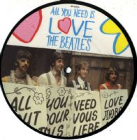 Beatles,The - All You Need Is Love/Baby You're A Rich Man (RP 5620) Picture Disc